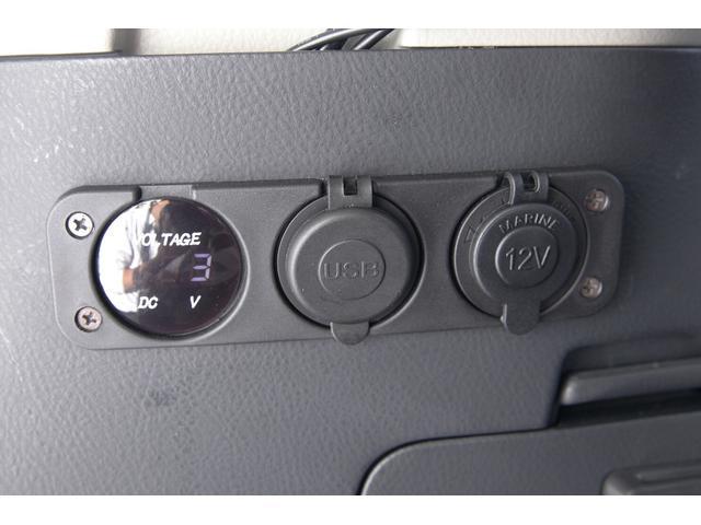 300Wインバーター USB シガーソケット ボルトゲージ装備!