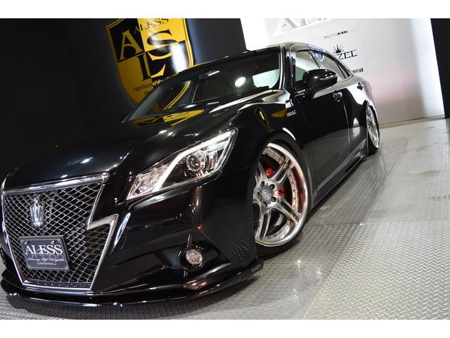 トヨタ クラウンハイブリッド アスリートS AIMGAIN 新品車高調 WORK20インチ