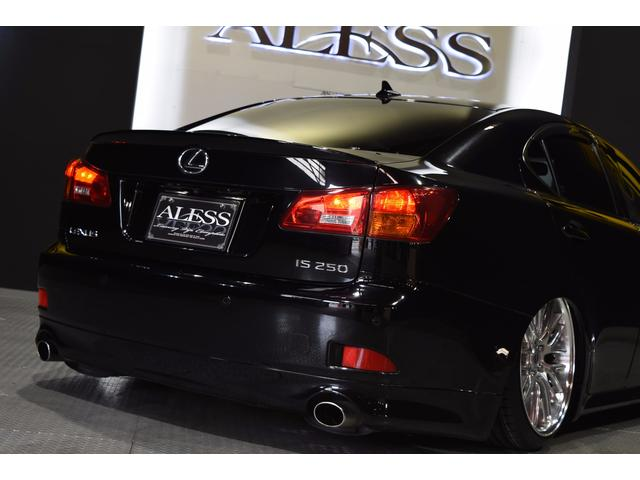IS250L ワンオーナー車 黒革 新品車高調 新品タイヤ(4枚目)