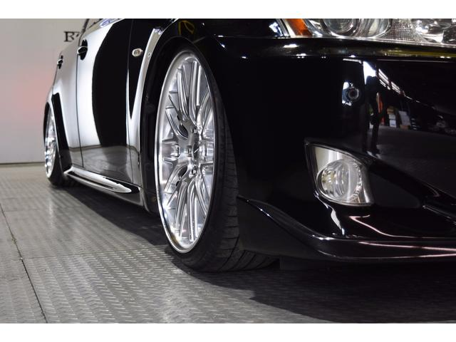 IS250L ワンオーナー車 黒革 新品車高調 新品タイヤ(14枚目)
