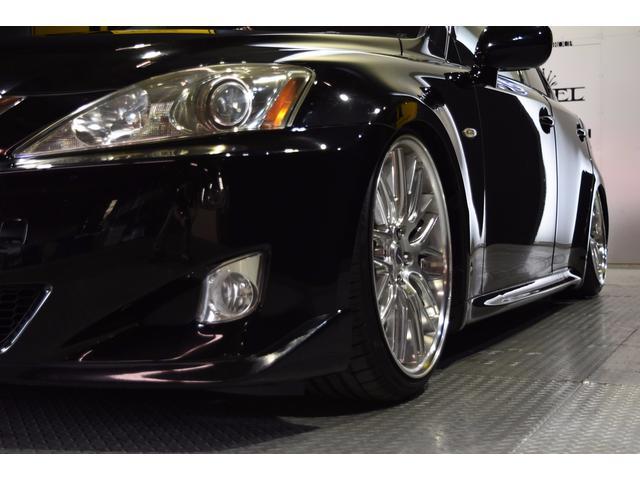 IS250L ワンオーナー車 黒革 新品車高調 新品タイヤ(15枚目)