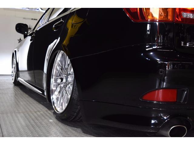 IS250L ワンオーナー車 黒革 新品車高調 新品タイヤ(17枚目)