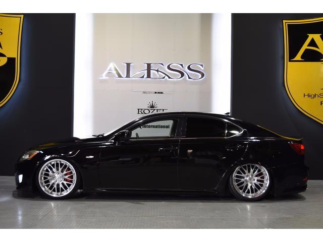 IS250L ワンオーナー車 黒革 新品車高調 新品タイヤ(19枚目)