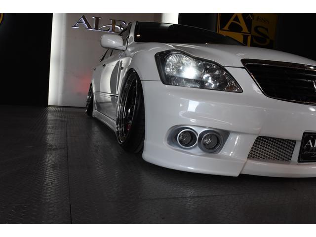 トヨタ クラウン アスリートGパッケージ 車高調 SSR  VLENEエアロ
