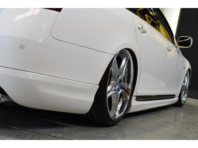 GS430 黒革サンルーフ RSR車高調 フリーデン20in(6枚目)