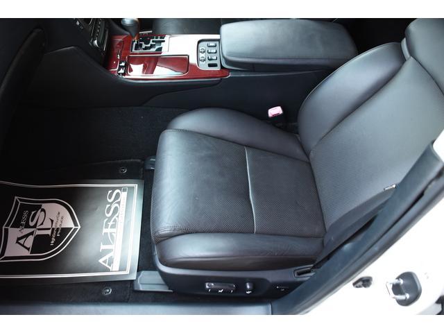 GS430 黒革サンルーフ RSR車高調 フリーデン20in(8枚目)