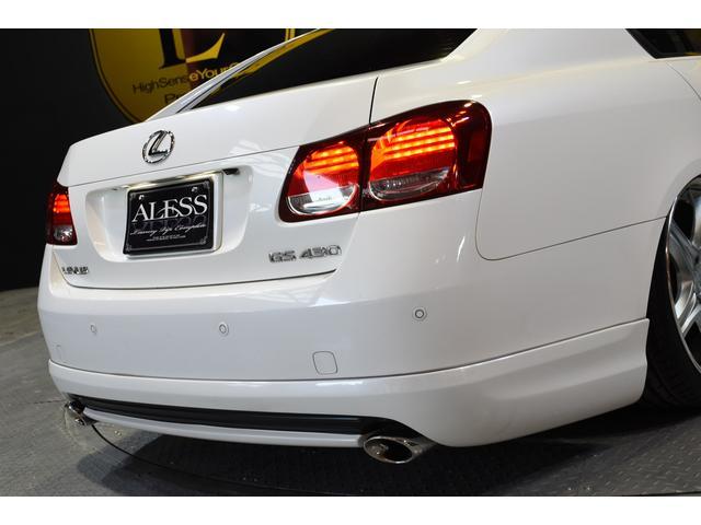 GS430 黒革サンルーフ RSR車高調 フリーデン20in(14枚目)