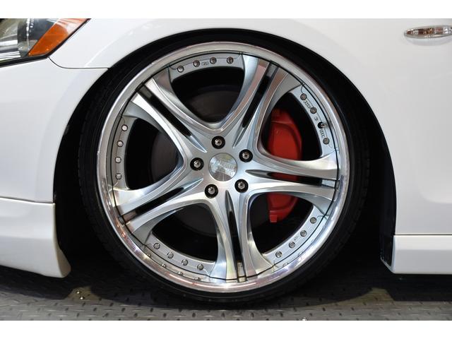 GS430 黒革サンルーフ RSR車高調 フリーデン20in(15枚目)
