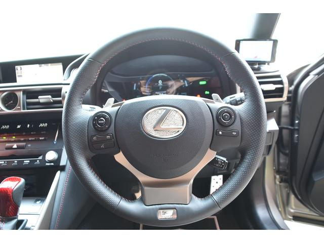 IS300h Fスポ 赤革サンルーフ新品車高調 新品WORK(11枚目)