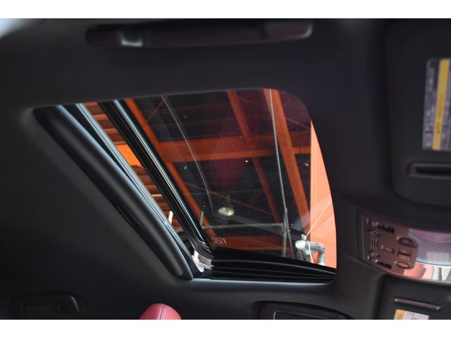 IS300h Fスポ 赤革サンルーフ新品車高調 新品WORK(12枚目)