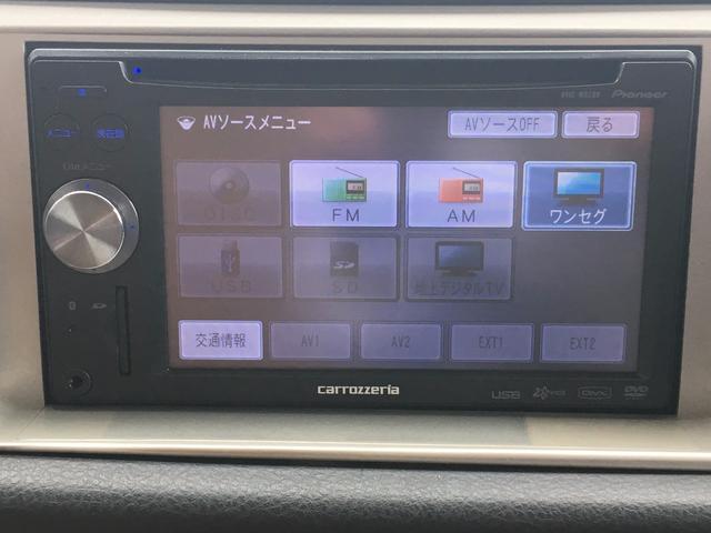 ダイハツ ミラジーノ X メモリーナビ ワンセグTV ETC