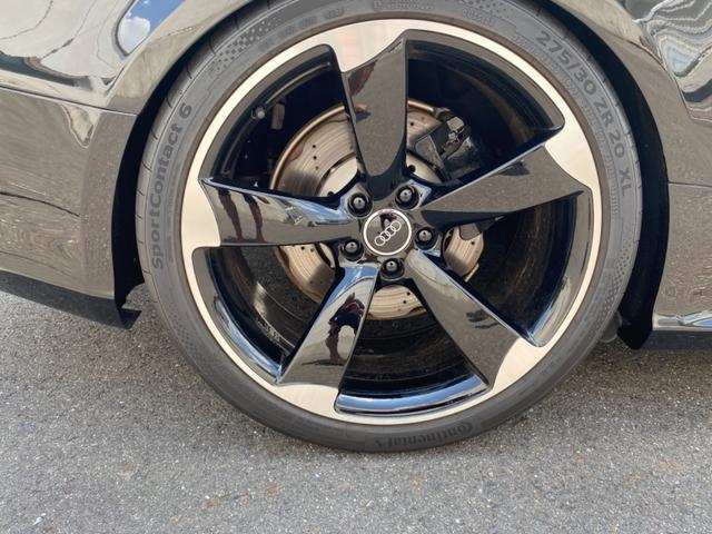 ベースグレード RS5 車高調 社外マフラー 左ハンドル 20インチアルミ(27枚目)