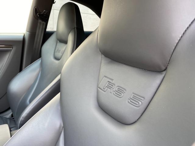 ベースグレード RS5 車高調 社外マフラー 左ハンドル 20インチアルミ(33枚目)