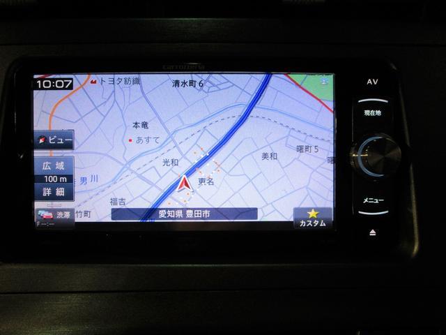 S 社外メモリーナビ ワンセグ CD・DVD対応 HID インテリキー 純正14AW Aストップ(2枚目)