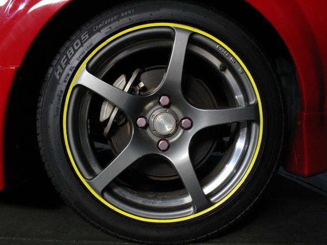 Sエディション 純正F/Rエアロ 外サイドエアロ/ローダウン/16アルミ ロッソモデロマフラー 外LEDライト ETC 純正オーディオ GTウィング(35枚目)