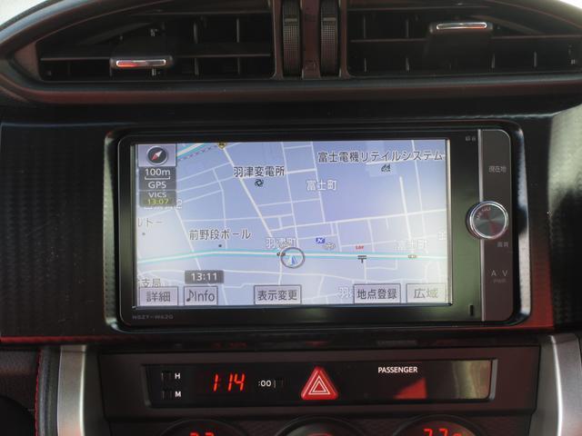 トヨタ 86 GTリミテッド SDナビ 地デジ バックモニター ETC