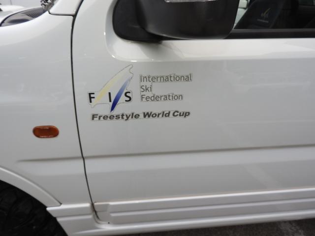 スズキ ジムニー FISフリースタイルワールドカップリミテッド リフトアップ