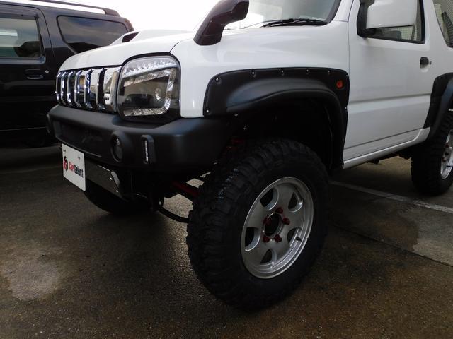 XG パートタイム4WD インタークーラーターボ 新品部品3インチリフトアップキット 新品16インチマッドタイヤ 新品プロジェクターヘッドライト 新品オーバーフェンダー 新品前後LED付きショートバンパー(7枚目)