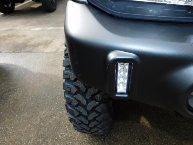 XG パートタイム4WD インタークーラーターボ 新品部品3インチリフトアップキット 新品16インチマッドタイヤ 新品プロジェクターヘッドライト 新品オーバーフェンダー 新品前後LED付きショートバンパー(21枚目)