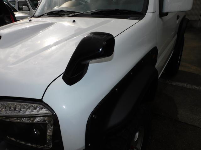 XG パートタイム4WD インタークーラーターボ 新品部品3インチリフトアップキット 新品16インチマッドタイヤ 新品プロジェクターヘッドライト 新品オーバーフェンダー 新品前後LED付きショートバンパー(23枚目)