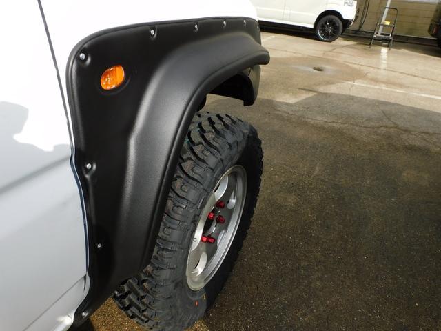 XG パートタイム4WD インタークーラーターボ 新品部品3インチリフトアップキット 新品16インチマッドタイヤ 新品プロジェクターヘッドライト 新品オーバーフェンダー 新品前後LED付きショートバンパー(26枚目)