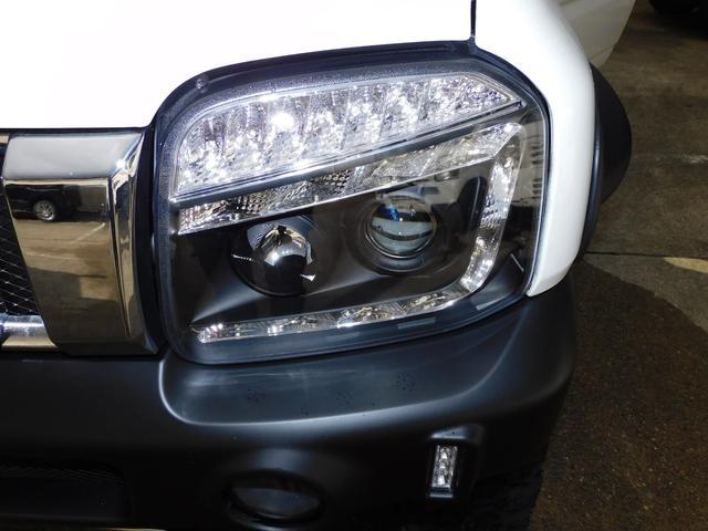 XG パートタイム4WD インタークーラーターボ 新品部品3インチリフトアップキット 新品16インチマッドタイヤ 新品プロジェクターヘッドライト 新品オーバーフェンダー 新品前後LED付きショートバンパー(27枚目)