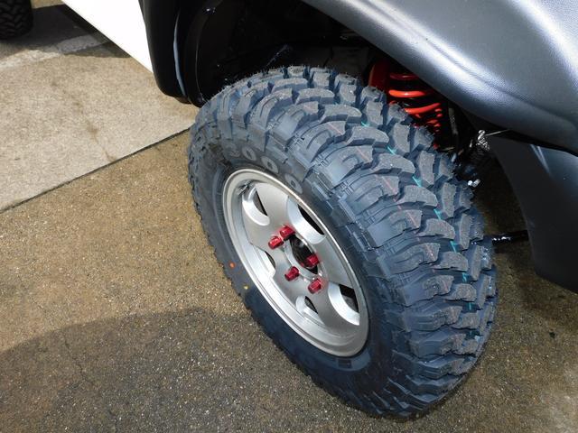 XG パートタイム4WD インタークーラーターボ 新品部品3インチリフトアップキット 新品16インチマッドタイヤ 新品プロジェクターヘッドライト 新品オーバーフェンダー 新品前後LED付きショートバンパー(34枚目)