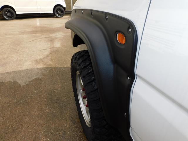 XG パートタイム4WD インタークーラーターボ 新品部品3インチリフトアップキット 新品16インチマッドタイヤ 新品プロジェクターヘッドライト 新品オーバーフェンダー 新品前後LED付きショートバンパー(52枚目)