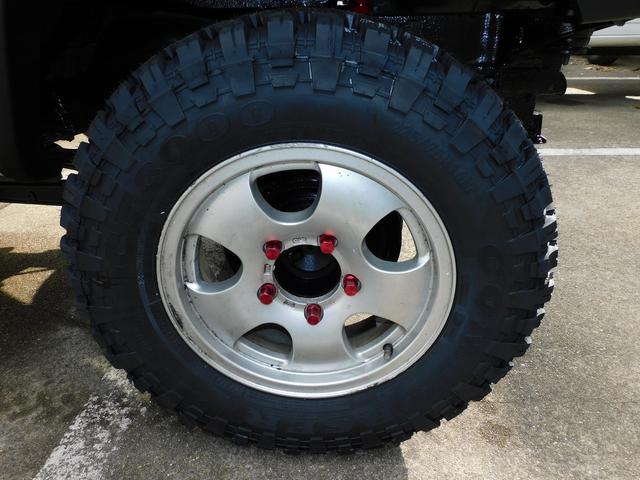 XG パートタイム4WD インタークーラーターボ 新品部品3インチリフトアップキット 新品16インチマッドタイヤ 新品プロジェクターヘッドライト 新品オーバーフェンダー 新品前後LED付きショートバンパー(54枚目)