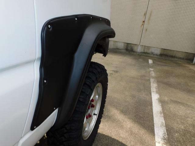 XG パートタイム4WD インタークーラーターボ 新品部品3インチリフトアップキット 新品16インチマッドタイヤ 新品プロジェクターヘッドライト 新品オーバーフェンダー 新品前後LED付きショートバンパー(55枚目)