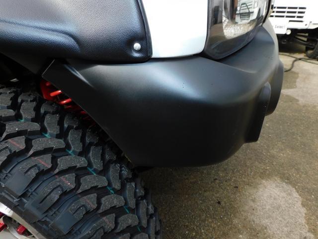 XG パートタイム4WD インタークーラーターボ 新品部品3インチリフトアップキット 新品16インチマッドタイヤ 新品プロジェクターヘッドライト 新品オーバーフェンダー 新品前後LED付きショートバンパー(60枚目)