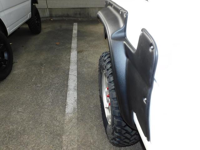 XG パートタイム4WD インタークーラーターボ 新品部品3インチリフトアップキット 新品16インチマッドタイヤ 新品プロジェクターヘッドライト 新品オーバーフェンダー 新品前後LED付きショートバンパー(69枚目)