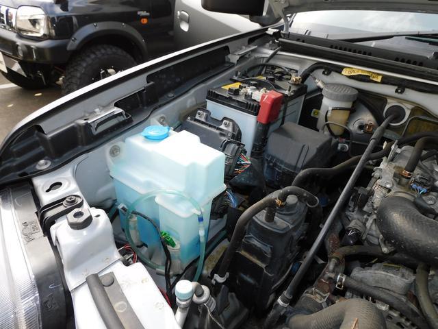 XG インタークーラーターボ パートタイム4WD フロア5速ミッション 新品部品3インチリフトアップキット 新品LEDランプ付き前後ショートバンパー 新品COMFORSER16インチマッドタイヤ(19枚目)