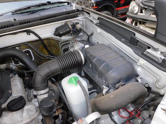 XG インタークーラーターボ パートタイム4WD フロア5速ミッション 新品部品3インチリフトアップキット 新品LEDランプ付き前後ショートバンパー 新品COMFORSER16インチマッドタイヤ(23枚目)