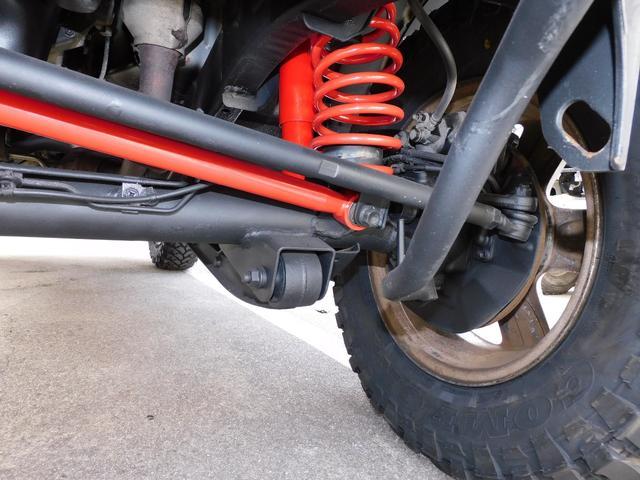 XG インタークーラーターボ パートタイム4WD フロア5速ミッション 新品部品3インチリフトアップキット 新品LEDランプ付き前後ショートバンパー 新品COMFORSER16インチマッドタイヤ(28枚目)