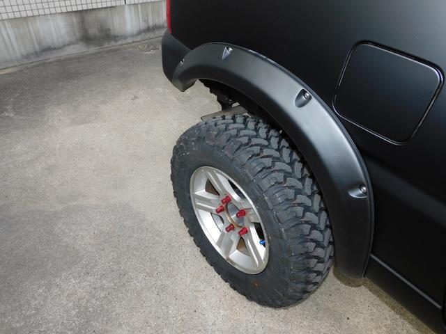 XG インタークーラーターボ パートタイム4WD フロア5速ミッション 新品部品3インチリフトアップキット 新品LEDランプ付き前後ショートバンパー 新品COMFORSER16インチマッドタイヤ(32枚目)