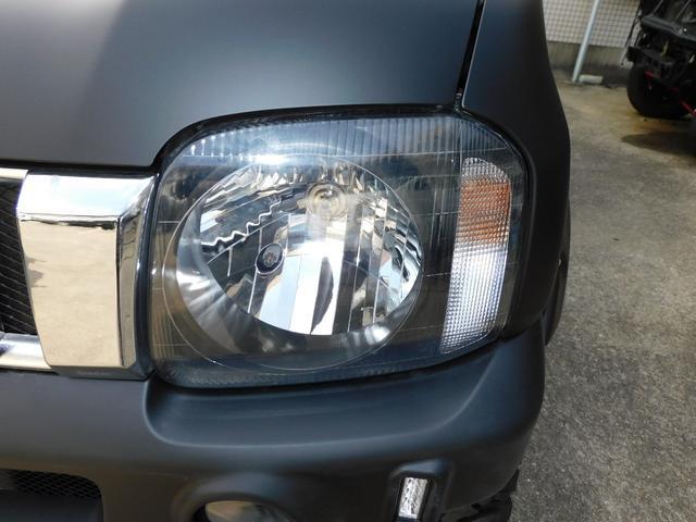 XG インタークーラーターボ パートタイム4WD フロア5速ミッション 新品部品3インチリフトアップキット 新品LEDランプ付き前後ショートバンパー 新品COMFORSER16インチマッドタイヤ(43枚目)