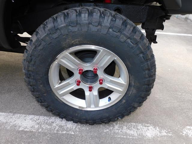 XG インタークーラーターボ パートタイム4WD フロア5速ミッション 新品部品3インチリフトアップキット 新品LEDランプ付き前後ショートバンパー 新品COMFORSER16インチマッドタイヤ(46枚目)