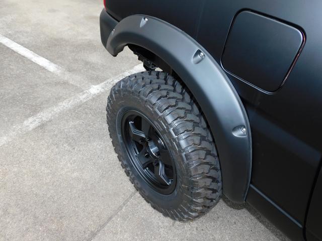 ワイルドウインド パートタイム4WD 新品部品3インチリフトアップキット 自社オリジナルマッドブラック塗装 新品LED付き前後ショートバンパー 新品COMFORSER16インチマッドタイヤ 新品フロントメッキグリル(23枚目)