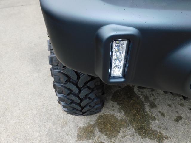 ワイルドウインド パートタイム4WD 新品部品3インチリフトアップキット 自社オリジナルマッドブラック塗装 新品LED付き前後ショートバンパー 新品COMFORSER16インチマッドタイヤ 新品フロントメッキグリル(33枚目)