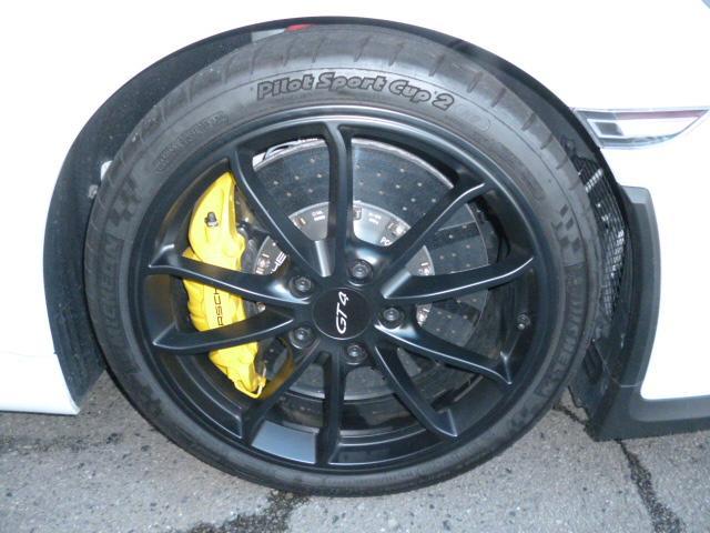 GT4 PCCB スポーツクロノ レザーインテリア(14枚目)