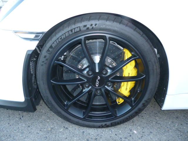 GT4 PCCB スポーツクロノ レザーインテリア(15枚目)