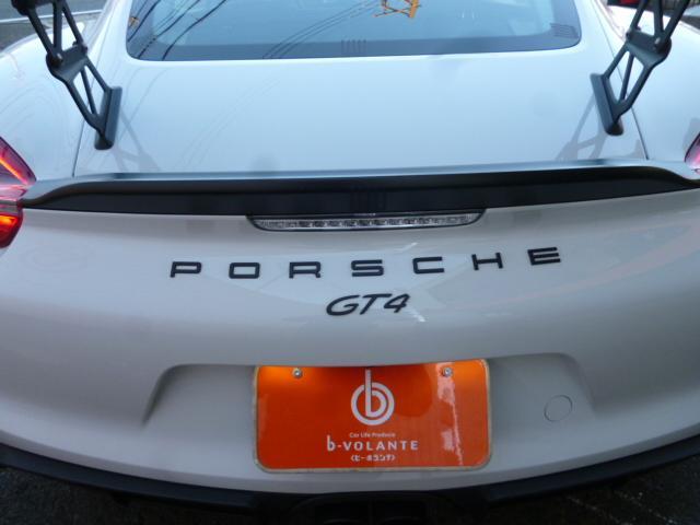 GT4 PCCB スポーツクロノ レザーインテリア 電動スポーツシート サテンブラックカラーホイール(31枚目)
