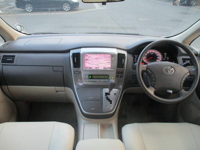 トヨタ アルファードハイブリッド ベースグレード HDDナビ フリップダウン 両側電動スライド