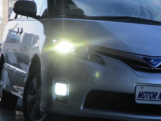 トヨタ エスティマハイブリッド X 4WD 社外ナビ 電動スライド スマートキー