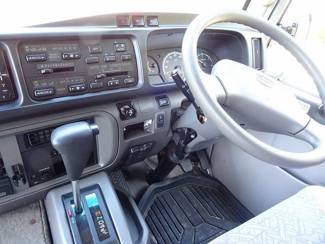 トヨタ コースター ロングGXターボ 29人乗り 自動ドア HDDナビ 室内TV