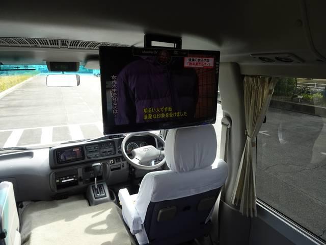 ロングGXターボ 29人乗り 自動ドア HDDナビ 室内TV(19枚目)