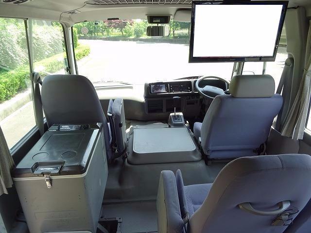 トヨタ コースター ロングGXターボ 29人乗り オートマ 冷蔵庫 自動ドア