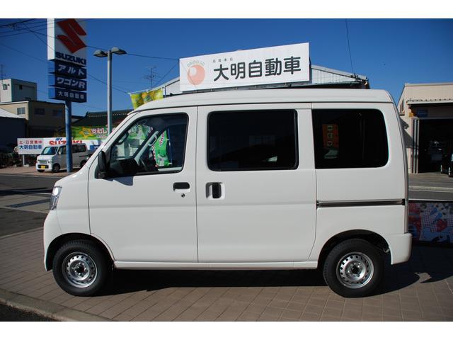 ダイハツ ハイゼットカーゴ スペシャル 未使用車 キーレス スモークガラス 愛知県限定車