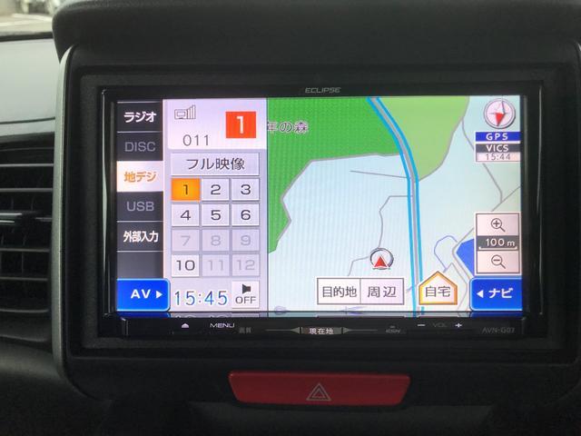 この車両には、TV(フルセグ)が付いております。